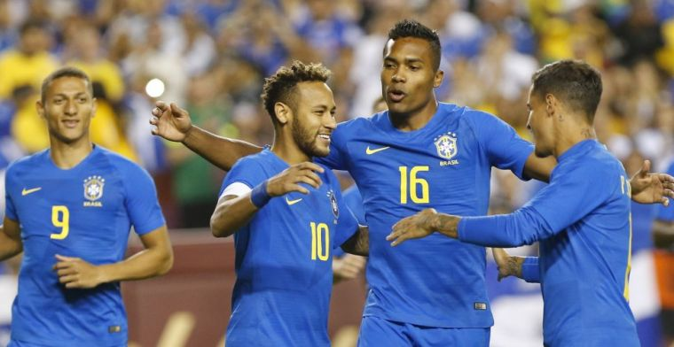Brazilië wervelt met Neymar en Richarlison; Tagliafico leidt Argentinië