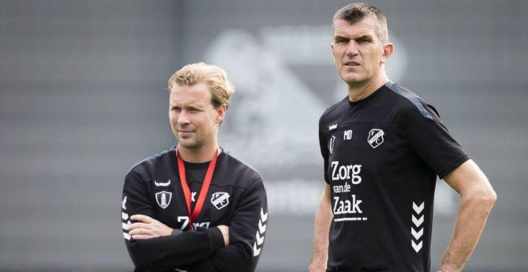 FC Utrecht met nieuw gezicht na ontslag De Jong: Ik ken het gevoel zelf ook