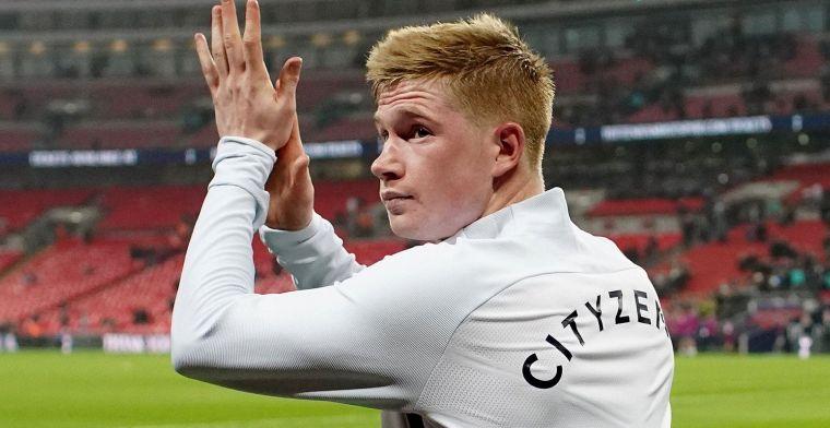 Guardiola onthult: 'De Bruyne mag Man City verlaten voor vastgelegd bedrag'