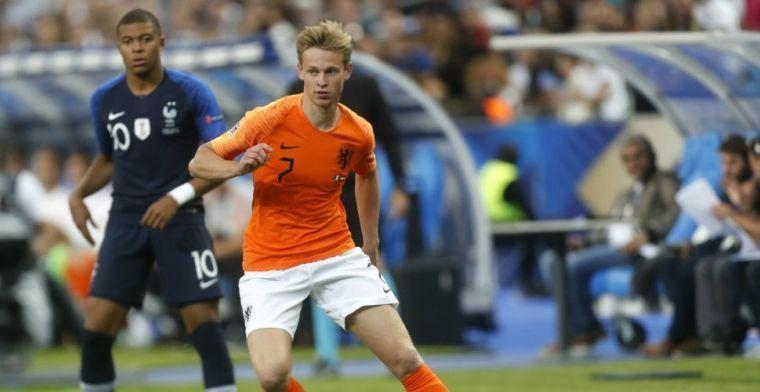 Frenkie de Jong: 'Een van beste voetballers ooit. Kom ik niet bij in de buurt'