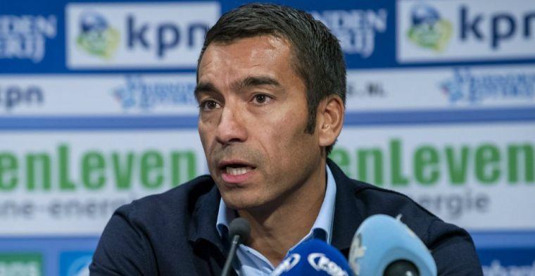 Van Bronckhorst erkent: Hij heeft een moeilijke periode gehad na het WK