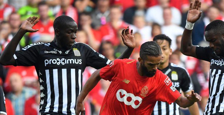 Standard en Charleroi zorgen voor scoreloos gelijkspel in Waalse derby