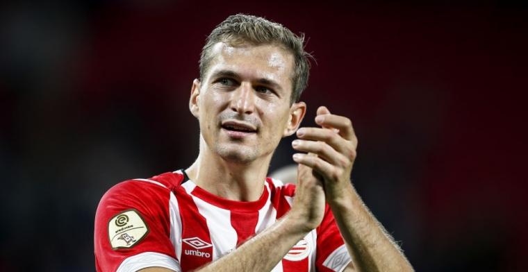 'Toen bleef ik staan bij PSV en ik had het idee dat dat zo zou blijven'