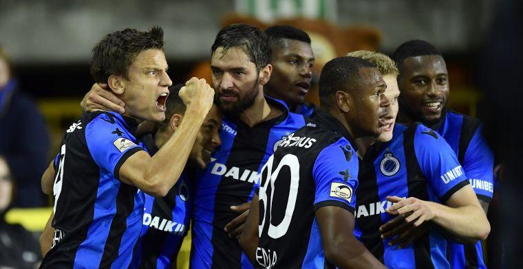 Club Brugge staat op dit moment verder dan de andere topclubs