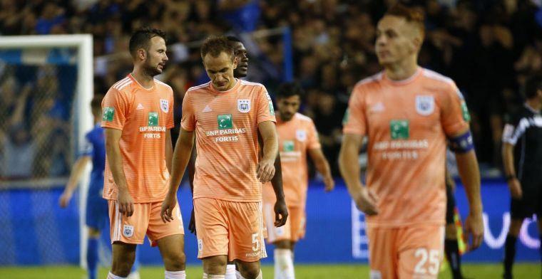 'Twee Anderlecht-spelers stuurden hun kat na zure nederlaag'