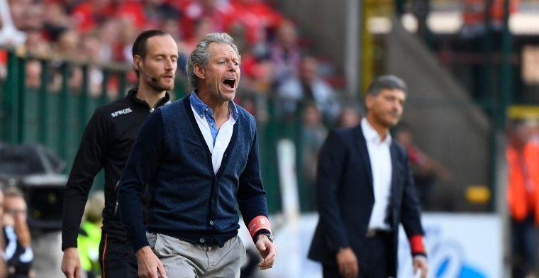 Charleroi en ref frustreren Preud'homme: ''Stel ik mij vragen bij''