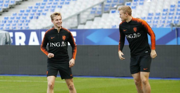 De Boer prijst Ajax-duo aan bij Barcelona: Hij komt over als een 30-jarige
