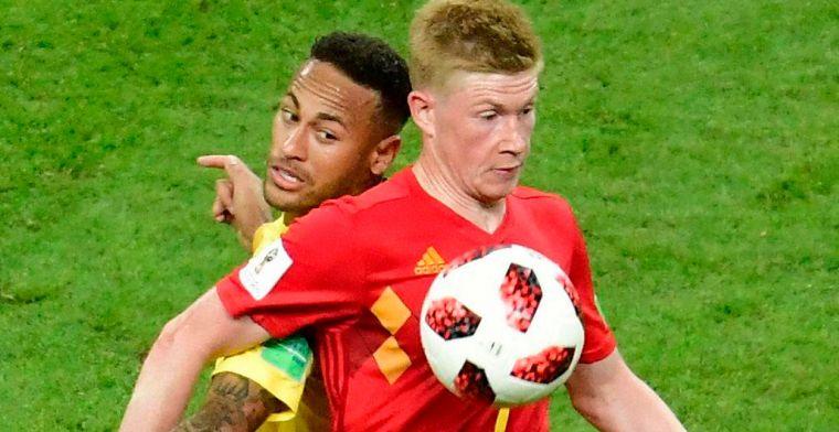 Klopp meent: Met een fitte Neymar had Brazilië België geklopt op het WK