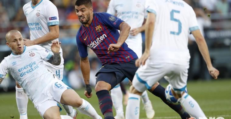 PSV maakt kennis met weergaloze Messi en incasseert harde nederlaag