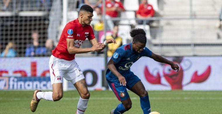 Twijfels over Johnsen na invalbeurt tegen Feyenoord: 'Zijn bij AZ niet overtuigd'