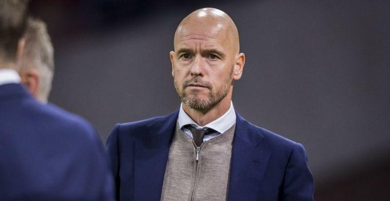Driessen ziet interne problemen bij Ajax: 'Ten Hag communiceert nauwelijks'
