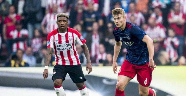 Engelse krant schrijft over 'elegante' De Ligt en Bergwijn: 'Weggestuurd bij Ajax'