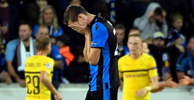 Drama voor Club Brugge, lucky goal van Dortmund zorgt voor kater
