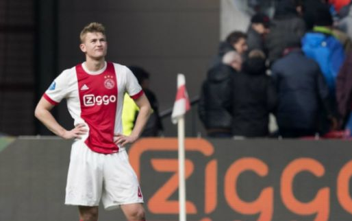 Afbeelding: 'Flinke domper voor Ajax: De Ligt haakt af met blessure en speelt niet tegen AEK'
