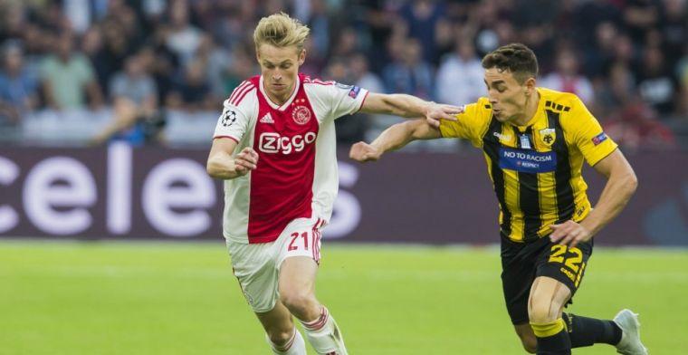 LIVE: Ajax scoort drie keer en kent bliksemstart in Champions League (gesloten)