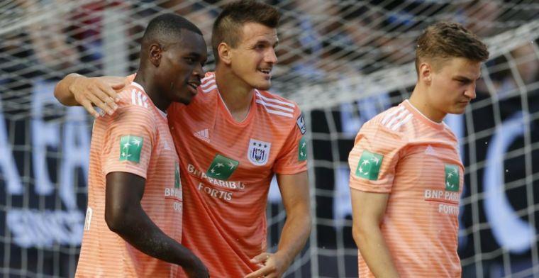 Anderlecht treft EL-opponent in nóg zwaarder weer