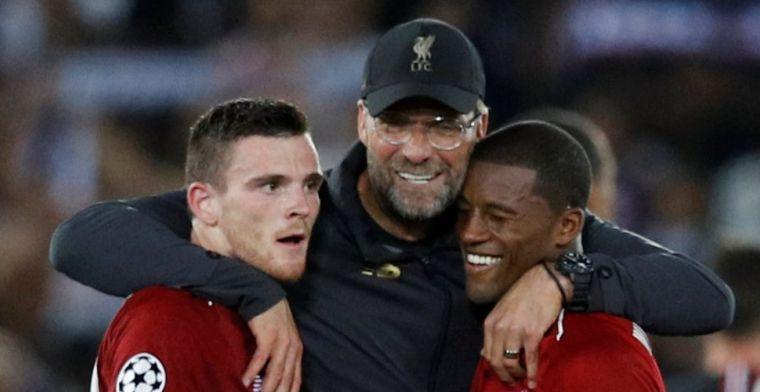 Volop lof voor 'unsung hero' Wijnaldum: 'Al maanden beste Liverpool-middenvelder'