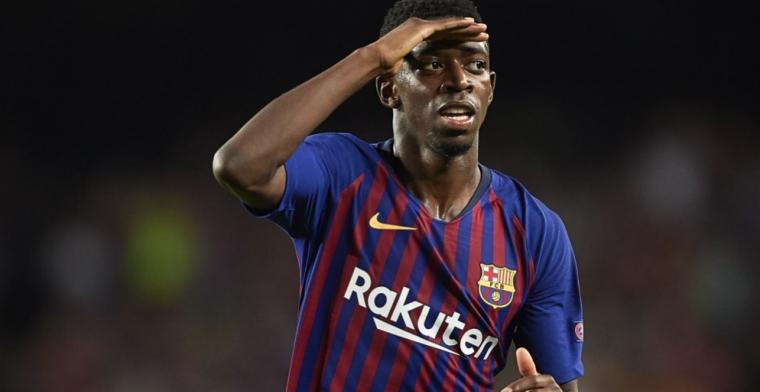 Broer Nouri eregast van Dembélé bij Barcelona - PSV: Heel erg betrokken