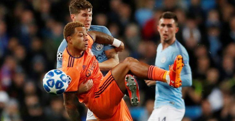 Groep F: Lyon stunt met ijzersterke Memphis tegen Manchester City