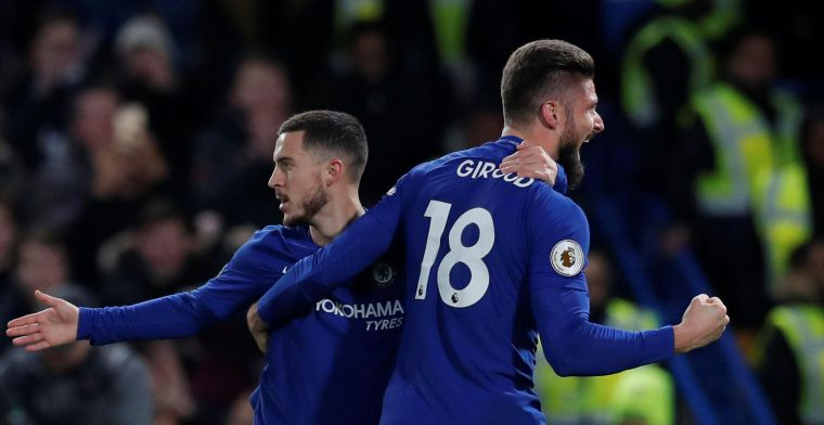 Hazard zal Chelsea niet kunnen helpen bij moeilijkheden in Griekenland