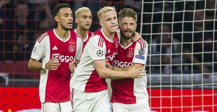 Spierballentaal uit Amsterdam richting PSV: Volgende week staan wij bovenaan