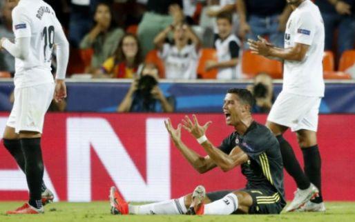 Afbeelding: Roep om VAR na rood Ronaldo: 'Staan met tien man door zoiets onbenulligs'