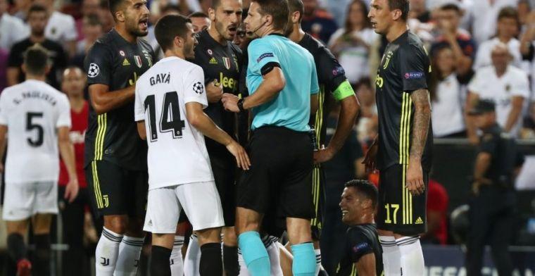 Piden la expulsión del árbitro de la UEFA en Italia