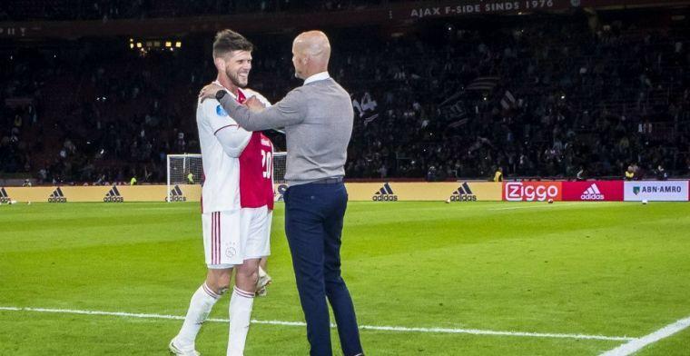 'Race tegen de klok richting PSV: De Ligt en Huntelaar trainen individueel'