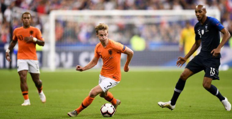 'De hele familie van Frenkie is voor Feyenoord. Hadden ze scherper op moeten zijn'