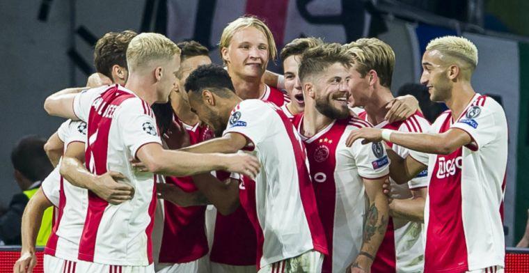 Buitenlandse media lyrisch over Ajax: 'Kandidaat voor de tweede plek in de poule'