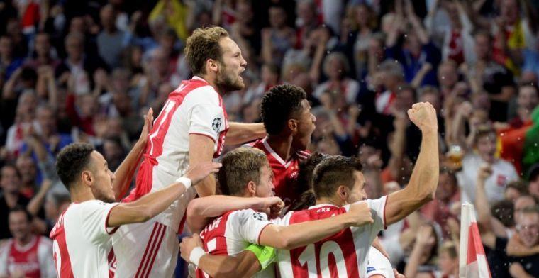 'Perfecte start' voor Ajax: 'Sensation red and white in de Arena'