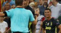 Imagen: Las palabras de Cristiano al árbitro tras ver la roja ante el Valencia