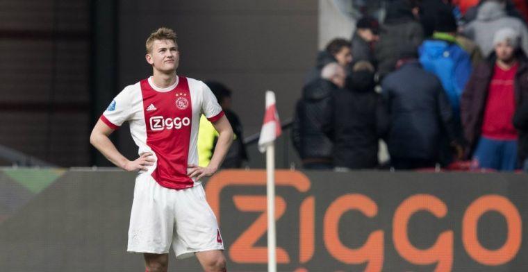 'MRI-scan geeft duidelijkheid over blessure De Ligt; Ajax blijft hopen op duo'