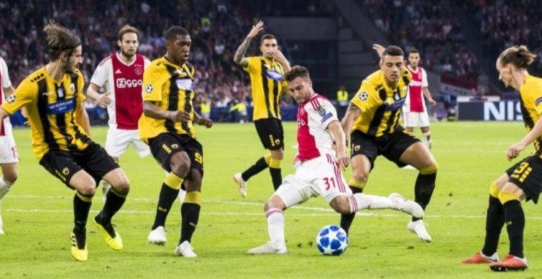 Nederland is er nog niet ondanks cruciale zege Ajax: Oostenrijk loopt in