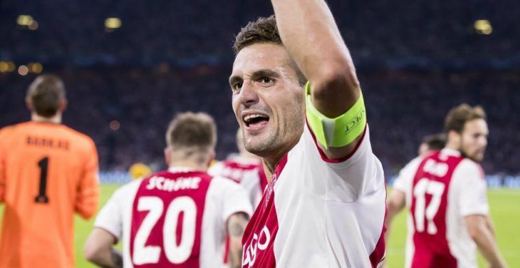 Ajax-collega's gaan naar binnen, Tadic blijft nog even: Ik heb het gewoon nodig