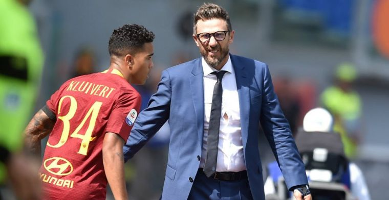 'Raiola op voet van oorlog met Roma door situatie teleurgestelde Kluivert'