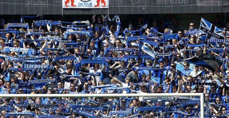 Oorlog begint: Club Brugge-fans provoceren Gent met opvallende stunt