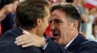 Imagen: Berizzo cree que el partido contra el Madrid les exige mantener ese nivel