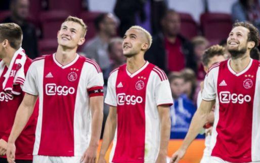 Afbeelding: Enorme opsteker voor Ajax: 'goede hoop' op meespelen trio tijdens PSV-clash