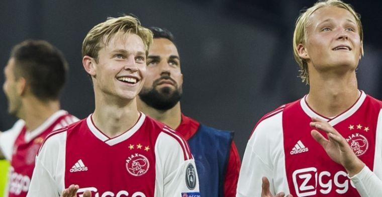Ik ben nu basisspeler van Ajax en we spelen ook Champions League. Ik geniet hier