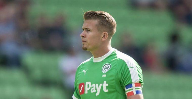Chagrijnige FC Groningen-speler heeft 'kutgevoel': 'Heb niet veel plezier gehad'