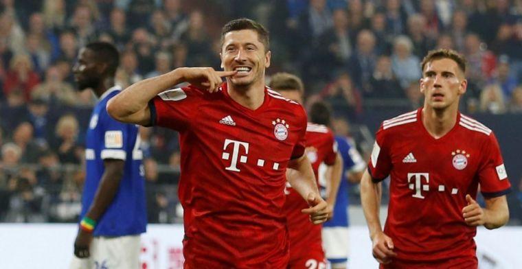 Bayern blijft foutloos: Schalke 04 in Gelsenkirchen volledig weggespeeld