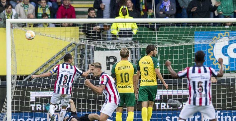 Fortuna en Willem II vermaken publiek en scoren acht keer in waar spektakelstuk