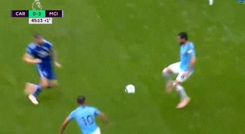 Schandalige aanslag op City-speler Gündogan slechts bestraft met geel