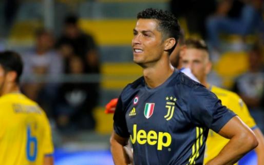 Afbeelding: Juventus dankt goudhaantje Ronaldo: late winst door goal en assist