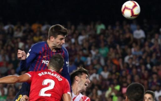 Afbeelding: FC Barcelona verslikt zich thuis en lijdt zeldzaam puntenverlies