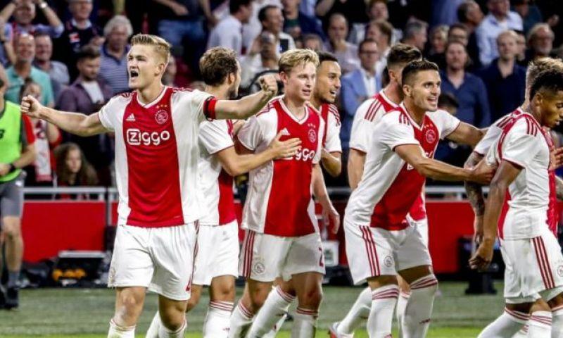 Afbeelding: 'Twee van drie Ajax-vraagtekens beschikbaar: 'fifty-fifty' voor De Ligt'