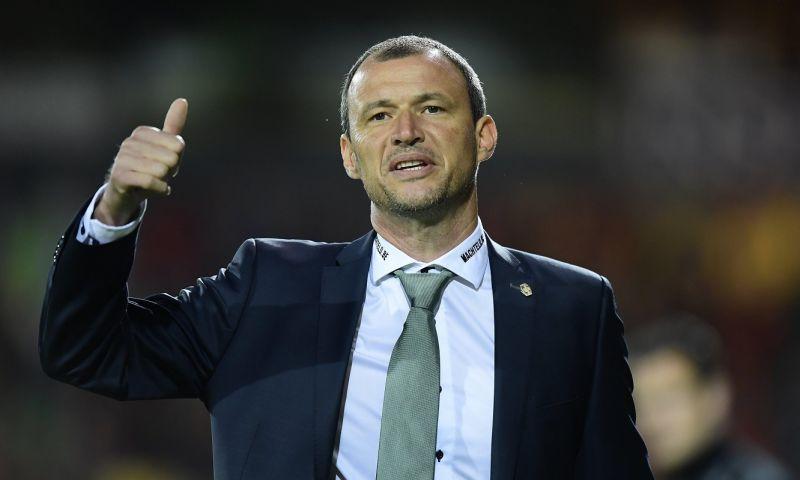 Afbeelding: Trainer van Cercle Brugge baalt: