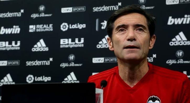 Marcelino confiesa como se vivió en el vestuario la derrota contra la Juventus
