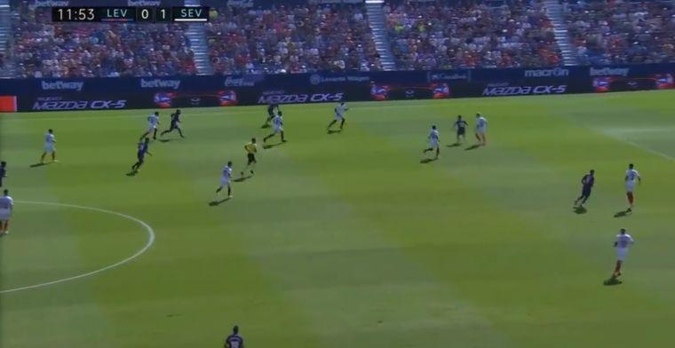 VÍDEO   Roger Martí da la réplica del Levante un minuto después (1-1)